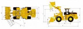 Фронтальный погрузчик XGMA XG932H
