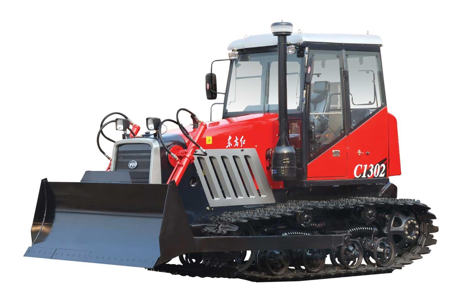 Гусеничные тракторы моделей C1302, C1402, C1602